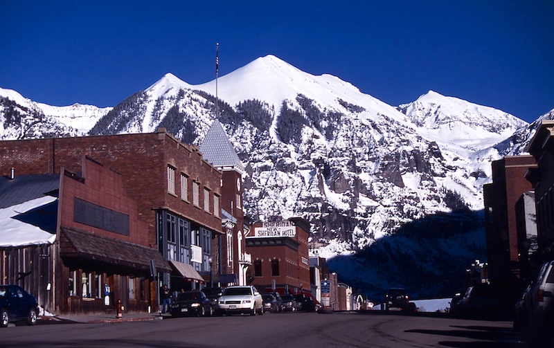 Telluride: la Cortina del Colorado.